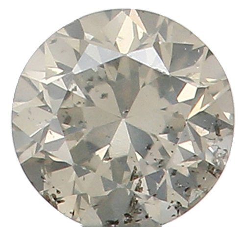 Narshiha 2.50 MM 0.067 Ct Natural Loose Diamond Cut Round Shape I Color I1 Clarity N4709 (Ct Diamond 0.067)