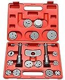 #1: 8MILELAKE Disc Brake Caliper Wind Back Tool Kit (18PC)