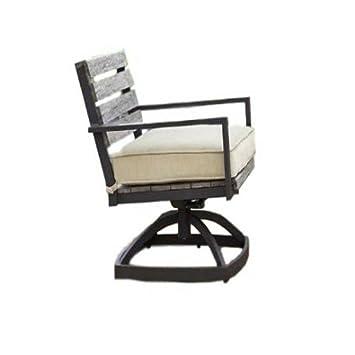 Amazon.com: Sillón de exterior con brazos Juego de muebles ...