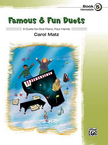 Famous & Fun Pop Duets, Bk 5: 6 Duets for One Piano, Four Hands