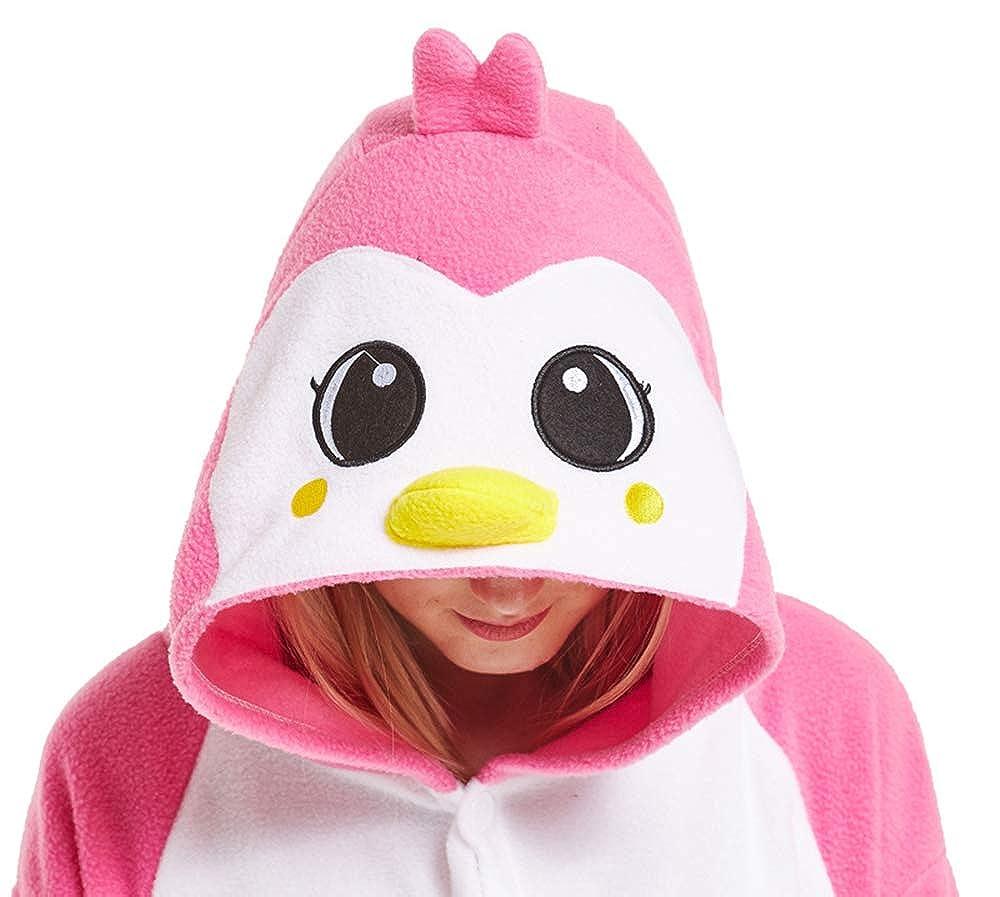 Honeystore Funny Animal Pjs One Piece Halloween Cosplay Costume Pajama  Sleepwear H1808B7 053849ccc