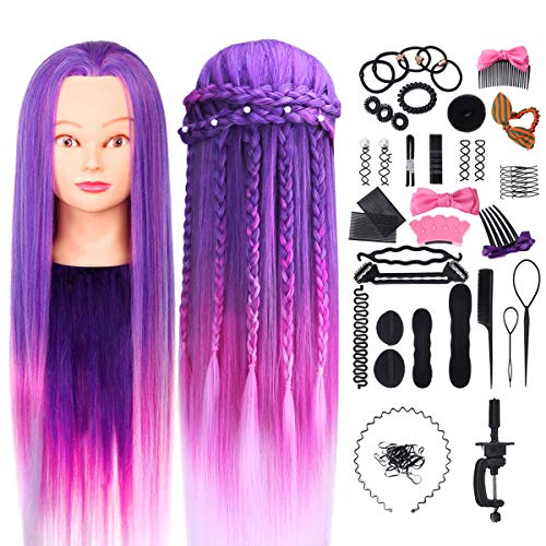 Cosmetology Mannequin Synthetic Hairdressing Practice product image
