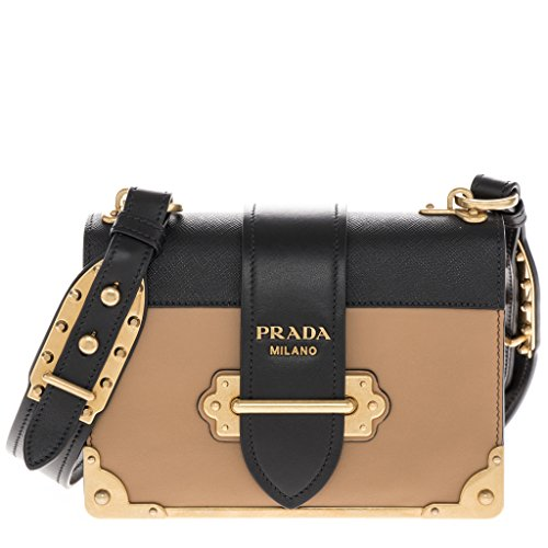 Prada-Womens-Cahier-Calf-Leather-Handbag-Brown