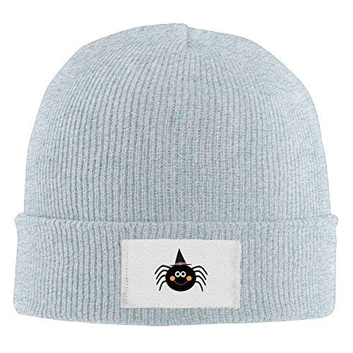 RZM YLY Halloween Spider Winter Acrylic Knit Hat Soft Warm Beanie Hat]()