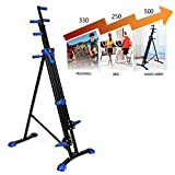 ETUOJI 2 In 1 Vertical Climber, Total Body Workout Cardio Machine Folding stair climber Portable Fitness Machine Step Climber with Digital Workout Timer (US STOCK)