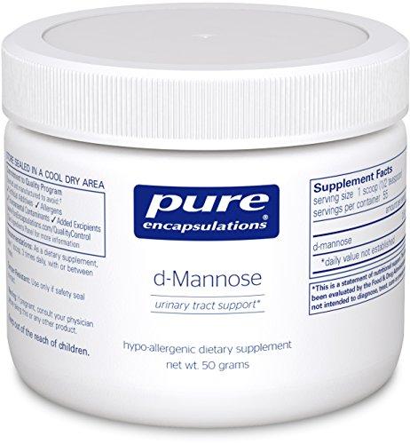 Pure Encapsulations d Mannose Hypoallergenic Supplement