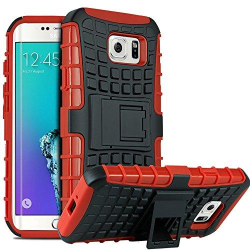 Galaxy S6 Edge Plus Case, HHI Dual Armor Composite Case with Stand for Samsung Galaxy S6 Edge Plus - (Hhi Armor Case)