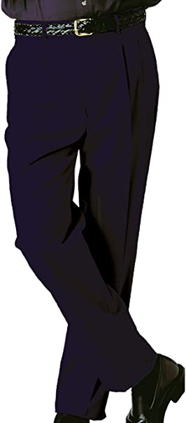 Khaki Ed Garments Mens Tall Business Casual Chino Pleated Pant 42 UR