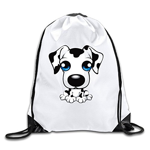 Price comparison product image Coreco Spotted Dog Little Puppy Drawstring Backpack Sack Bag