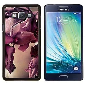 LECELL--Funda protectora / Cubierta / Piel For Samsung Galaxy A7 A7000 -- Arte Bloom Flor de primer plano --