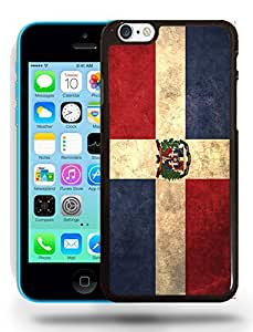 Dominican Republic Vintage Flag Phone Case Cover Designs for iPhone 5C