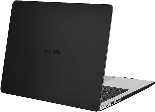 MOSISO Custodie Rigide Compatibile Solo con Huawei MateBook D 14 Pollici, Custodia Protettiva in Plastica Rigida, Nero