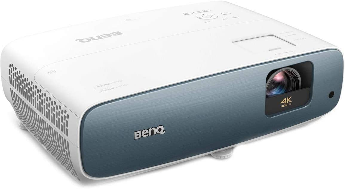 BenQ TK850i True 4K HDR-PRO Smart Home Entertainment Projector powered by Android TV | 3000 Lumens | 98% Rec.709 | Lens shift & Keystone for Easy Setup | 3D Projector for Binge Watchers and Sports