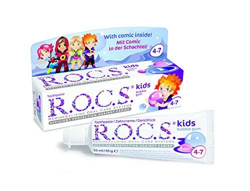 ROCS Kinder Bubble Gum Zahnpasta 45 g Zahnpasta