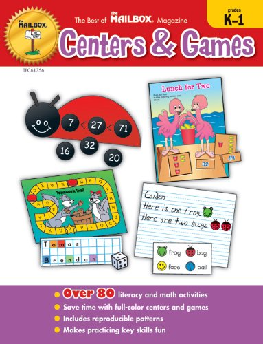 The Best of The Mailbox® Centers & Games  K-1