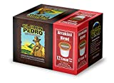 Cafe Don Pedro Breakfast Blend 72 Count Kcup Low-Acid Coffee