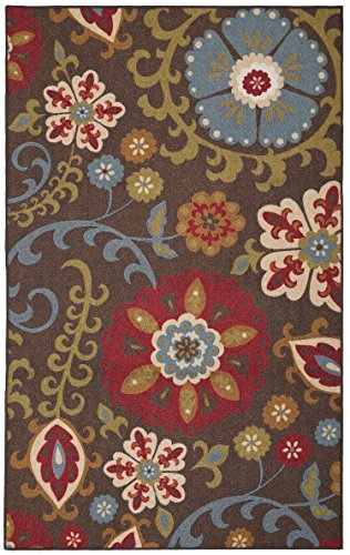- Mohawk Home Concord Folk Floral Light Multi Rug, 5' x 8'