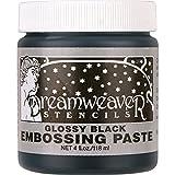 Stampendous Dreamweaver Glossy Black Embossing Paste