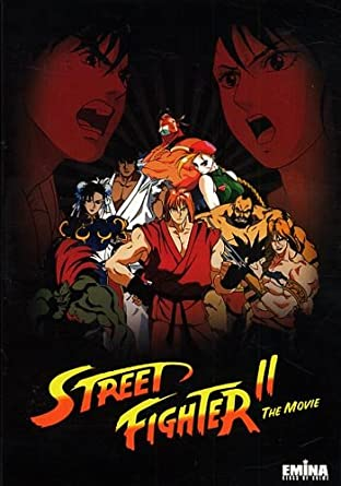 Street Fighter 2 The Animated Movie 1994 Dvd Remastered 5 1