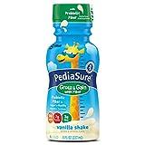 PediaSure Grow & Gain with Fiber Nutrition Shake For Kids, Vanilla, 8 fl oz (Pack of 12)