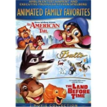 Amblin/Spielberg Animated Family Favorites 3-Movie Collection (An American Tale / Balto / The Land Before TIme) (1986)