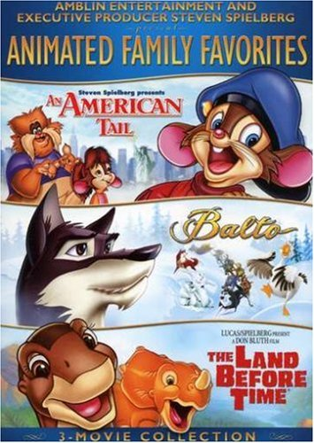 (Amblin/Spielberg Animated Family Favorites 3-Movie Collection (An American Tale / Balto / The Land Before TIme))