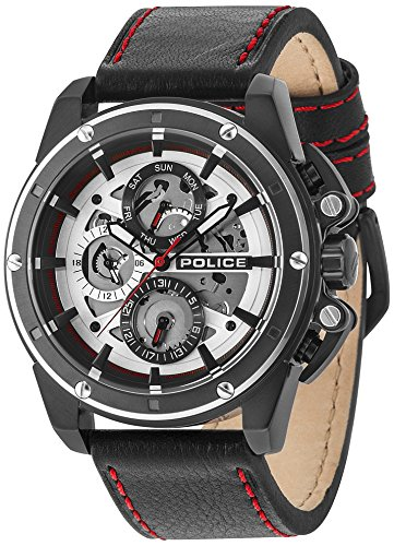 Police Design - Police SPLINTER PL14688JSBS.04 Mens Wristwatch Design Highlight