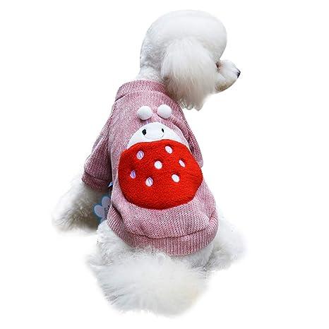 Handfly Trajes de Halloween para Perros Disfraces de Navidad para ...