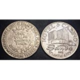 LOT of 2 Gaming Tokens BALLYS Park Place & Sands Hotel and Casino