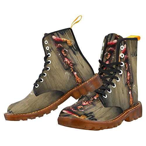 D-story Shoes Zombie Lace Up Martin Boots Voor Heren