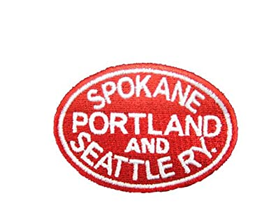 Amazon.com  Spokane Portland and Seattle Railway Embroidered Hat  hat59    Clothing fb3b4c89a359