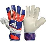 adidas Performance Predator Replique Goalie Gloves,Night Flash Purple/Solar Red/White, Size 4