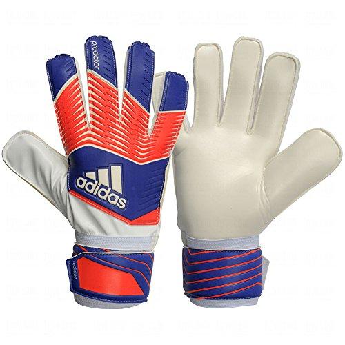 adidas Performance Predator Replique Goalie Gloves,Night Flash Purple/Solar Red/White, Size 11