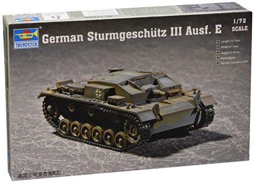 Trumpeter 1/72 German Sturmgeschutz III Ausf E (Sturmgeschutz Iii Tank)