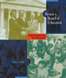 img - for Brown V. Board of Education (Cornerstones of Freedom: Second) book / textbook / text book