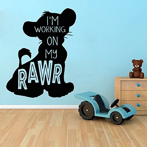 lion king wall decal Disney wall sticker lion king wall decals quotes ae14