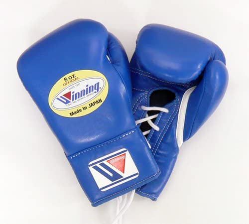 【Winning/ウイニング】 プロ試合用ボクシンググローブ8オンス ブルー