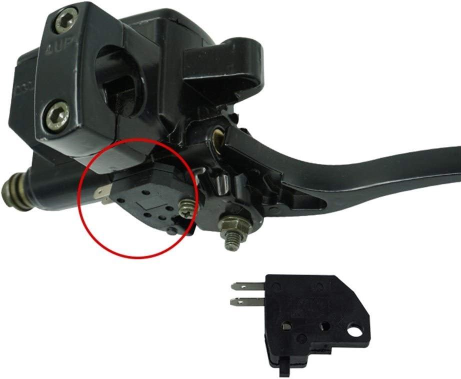 Levier de frein 25mm moto frein embrayage ma/ître cylindre r/éservoirs leviers pour Honda Magna VT250 Shadow VT750 1100 VTX1300 Leviers de guidon Couleur : Argent