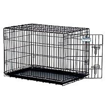 Precision Pet 7011245 Black ProValu Crate 5000 42-Inchx28-Inchx30-Inch