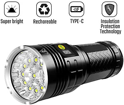 Semlos Flashlight Rechargeable Insulation Protection product image