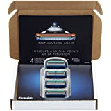 Gillette Fusion Manual Men's Razor Blade Refills, 4 Count, Mens Razors/Blades