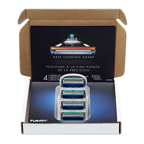 Gillette Fusion Manual Men's Razor Blade Refills, 12 Count, Mens Razors / Blades
