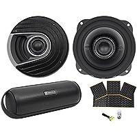 "(2) Polk Audio MM522 5.25"" 600w Car Audio/Marine Speakers+Rockmat+Free Speaker"