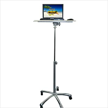 Folding table Nan Mesa portátil de pie Mesa elevable de Exterior con Ruedas Pie extraíble para