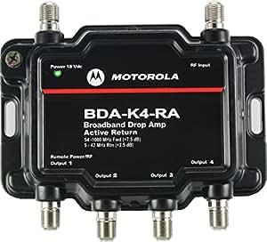 Amazon Com Motorola Signal Booster 4 Port Cable Modem Tv