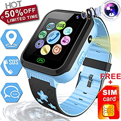 Kids Smart Watch GPS Tracker- 1.44