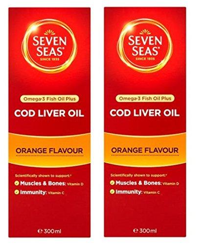 - Seven Seas - CLO & Orange Syrup | 300ml | BUNDLE by Seven Seas