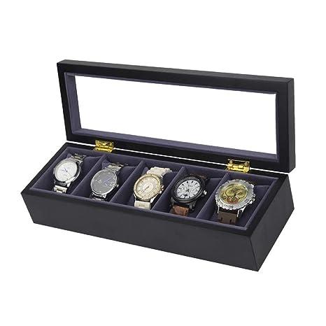 MICROSHE Reloj Caja para Caja de Almacenamiento de ...