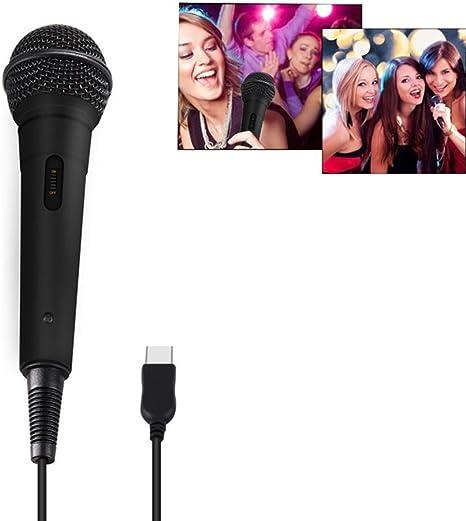 Micrófono USB - Micrófono Leegoal con Cable para Rock Band, Guitar ...