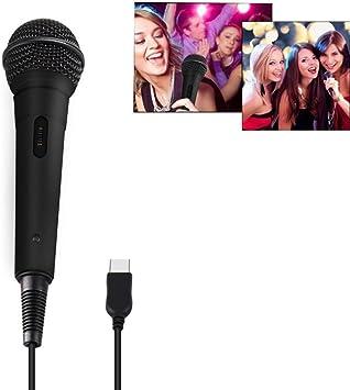 Micrófono USB - Micrófono Leegoal con cable para Rock Band, Guitar Hero, Lets Sing: Amazon.es: Electrónica